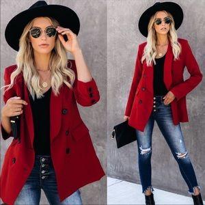 Red Blazer - I.N.C - NWT ✨